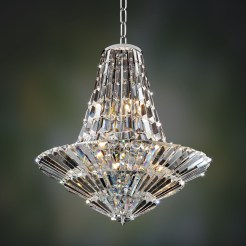 18 Light Crystal Chandelier Contemporary